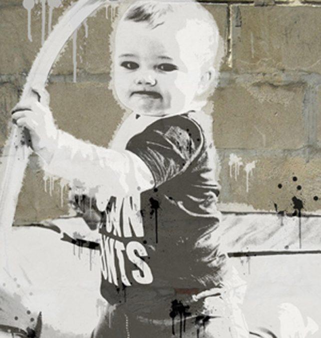 Banksy Baby Art