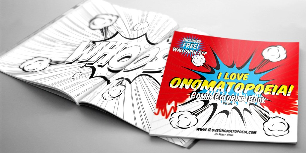 Comic Coloring Book