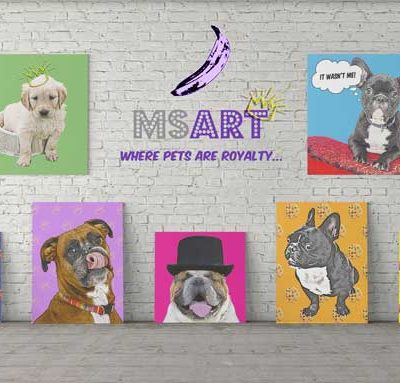 Dog Pop Art Main