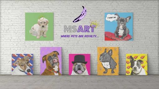 Dog Pop Art Main