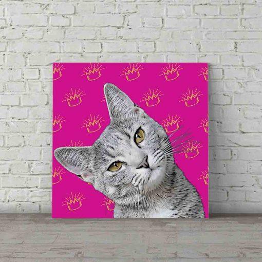 Cat Pop Art Princess