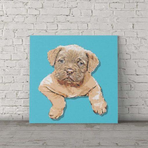 de-bourdeux dog pop art