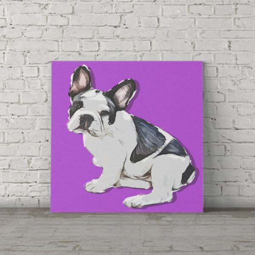 French Bulldog Pop Art Portrait Pet