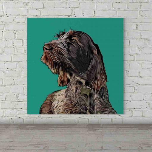 Dog Pop Art Jenson