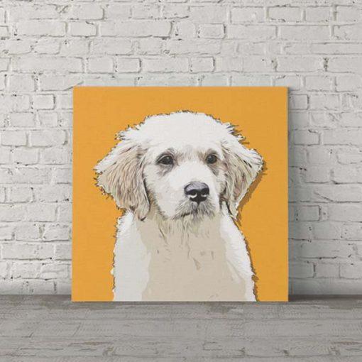 Labrador Dog Pop Art