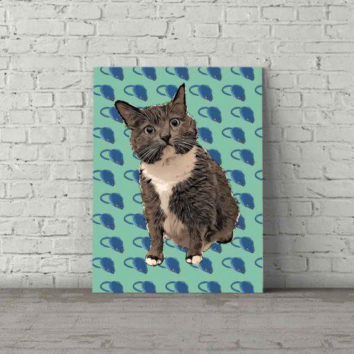 Cat Pop Art Banky