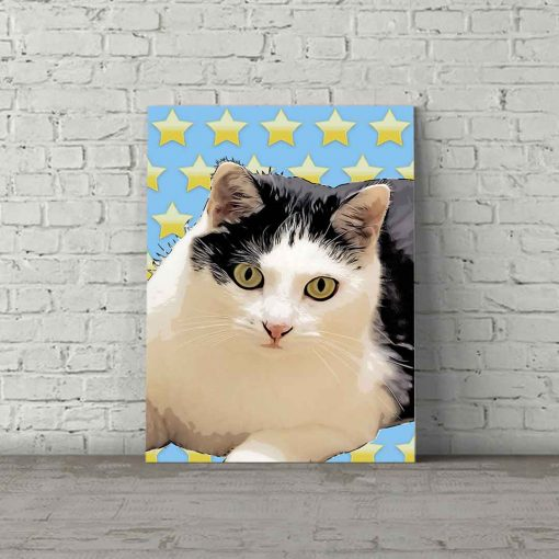 Cat Pop Art Danii