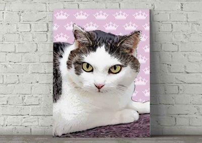 Cat Pop Art Kylie