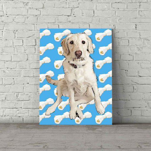 Dog Pop Art Autumn