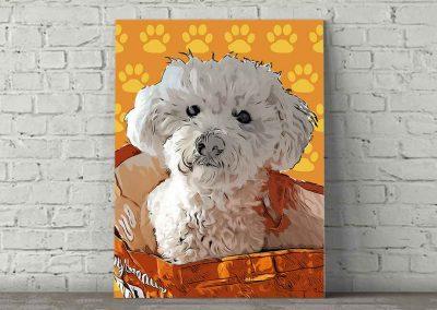 Dog Pop Art Cooper