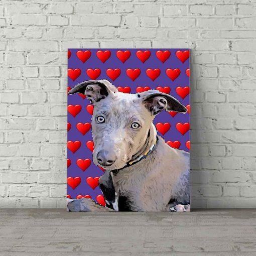 Dog Pop Art Murphy